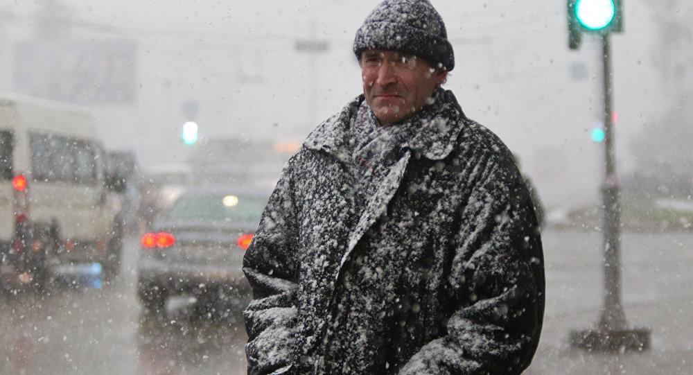 Мокрый снег ипорывистый ветер ожидаются в Республики Беларусь 26февраля