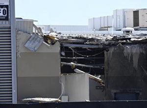 Самолет врезался в торговый центр неподалеку от Мельбурна сразу же после взлета
