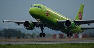 Самолет российской авиакомпании S7