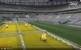 Работа в Лужниках: как реконструируют главную арену для ЧМ-2018