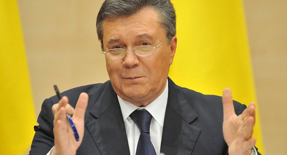 Янукович призвал проконтролировать расследование событий наМайдане