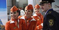За границу теперь летают только стройные и молодые стюардессы Аэрофлота