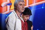 Сосо Павлиашвили на конкурсе Ты супер! был растроган тем, как исполнил песню из его репертуара Роман Дружинников