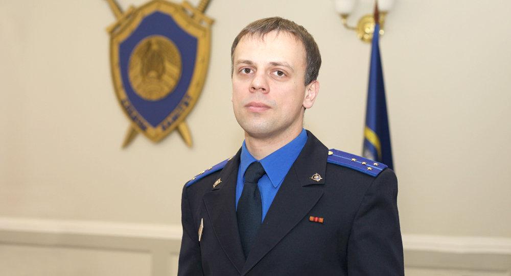 Официальный представитель Управления Следственного комитета по Минску Алексей Климович