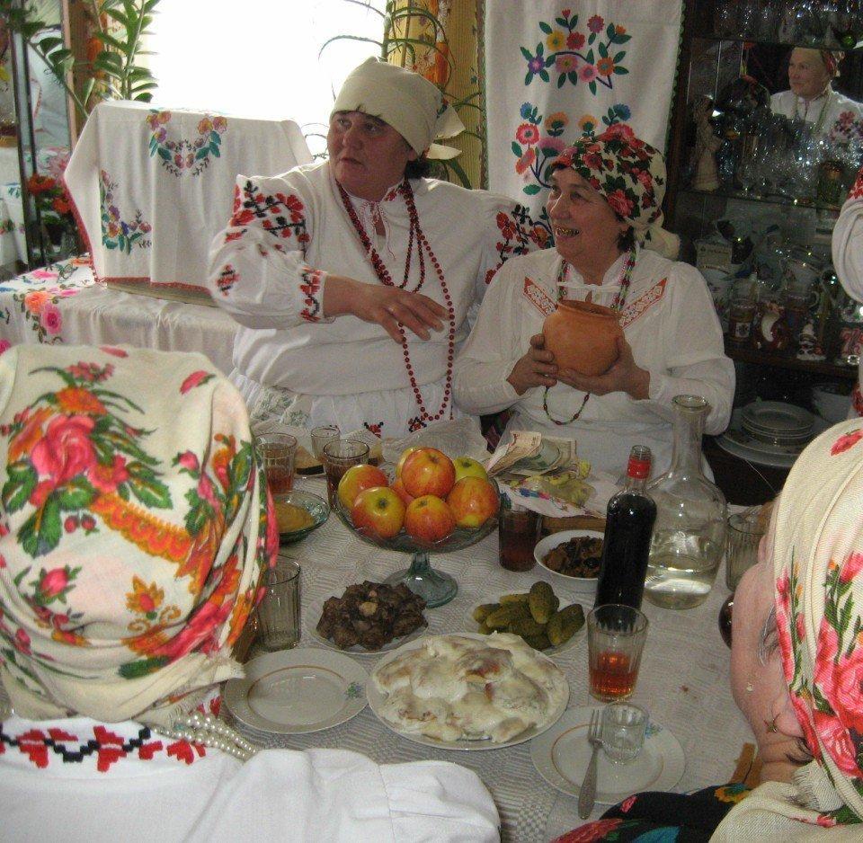 Масленічныя пасядзелкі ў Асіповіцкім раёне
