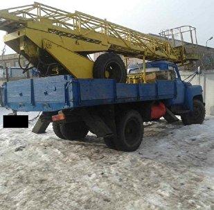 Угнанный автомобиль ГАЗ