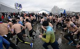Забег настоящих мужчин прошел в Минске