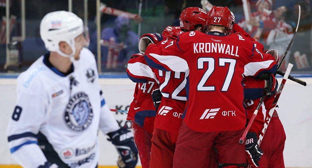«Локомотив» ивтретьем матче серии плей-офф КХЛ обыграл минское «Динамо»