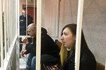Обвиняемые Александр Жильников и Анастасия Шульганова