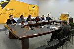 Круглый стол по имиджу Беларуси прошел в пресс-центре Sputnik