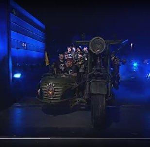 Самый мощный мотоцикл в мире приехал на байк-шоу в Гамбурге