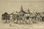 Рыночная площадь Новогрудка, 1916 год