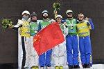 Победители этапа КМ по фристайлу в Раубичах