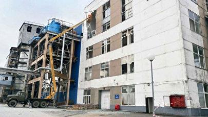 Взрыв на Скидельском сахарном комбинате под Гродно 25.02.2017