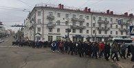 Марш против декрета №3 в Витебске
