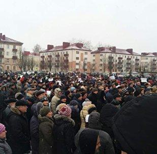 Акция протеста против декрета №3 в Бобруйске