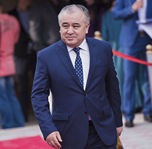 Депутат Жогорку Кенеша от фракции Ата Мекен Омурбек Текебаев