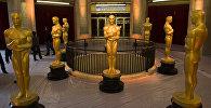Статуэтки Оскара перед началом церемонии вручения премии
