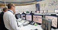 Щит управления энергоблока Атомной электростанции