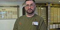 Заведующий ожоговым отделением БСМП Дмитрий Мазолевский