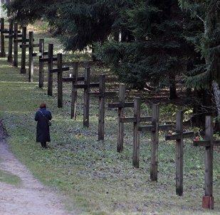 Урочышча Курапаты, дзе знаходзяцца пахаванні ахвяр палітычных рэпрэсій
