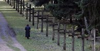 Курапаты, месца пахавання ахвяр палітычных рэпрэсій 30-50-х гадоў ХХ стагоддзя, архіўнае фота