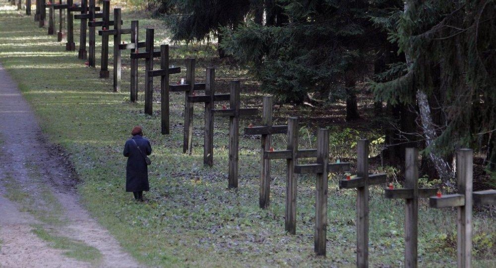 Куропаты, место захоронения жертв политических репрессий 30-50-х годов ХХ века, архивное фото