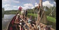 Відэафакт: Як вікінгі плавалі па Нёмане
