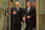 Президент Беларуси Александр Лукашенко с президентом Грузии Георгием Маргелашвили