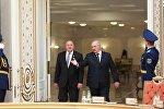 Президент Грузии Георгий Маргвелашвили и президент Беларуси Александр Лукашенко