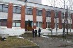 Дом культуры в Фариново, в котором находится отделение банка