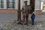 Скульптуру Мінскага гарадавога адкрылі напярэдадні 100-годдзя міліцыі
