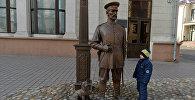 Скульптура Минский городовой открыта в Минске