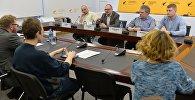 Прэс-канферэнцыя Sputnik у МПЦ аб першым беларускім фільме-жахаў