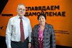 Руководитель центра кризисной психологии в России Михаил Хасьминский и первый заместитель председателя Белорусского союза женщин Светлана Ситникова