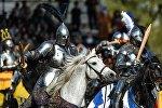 Першы міжнародны рыцарскі турнір у Маскве