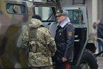 Парад в Минске, посвященный 100-летию милиции