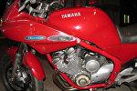 Мотоцикл погибшего байкера