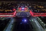 Бишкек, центральная площадь Ала-Тоо