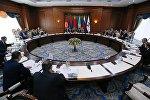 Заседание Евразийского межправительственного совета в узком составе в Бишкеке