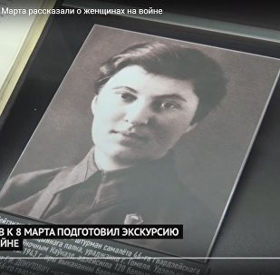 В музее истории ВОВ к 8 Марта рассказали о женщинах на войне