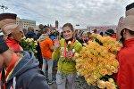 Красивый забег в Минске