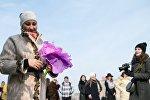 Празднование Международного женского дня в Москве