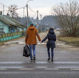 Жыхары вёскі Глуша