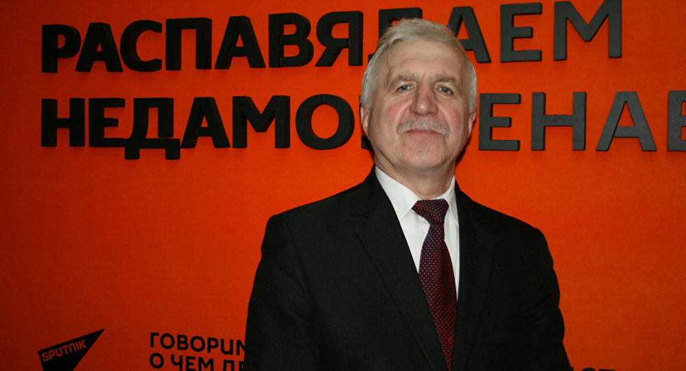 Председатель партии БНФ Григорий Костусев