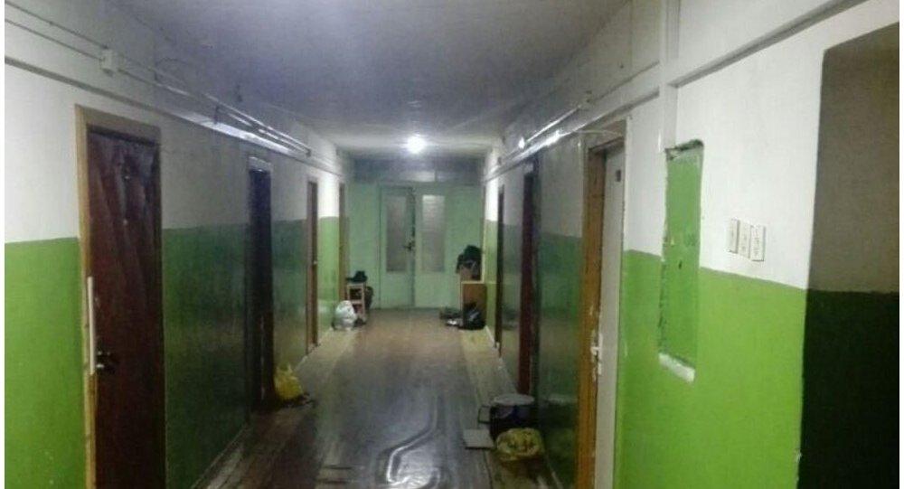 Пожар вобщежитии вНовополоцке: пострадала маленькая девочка