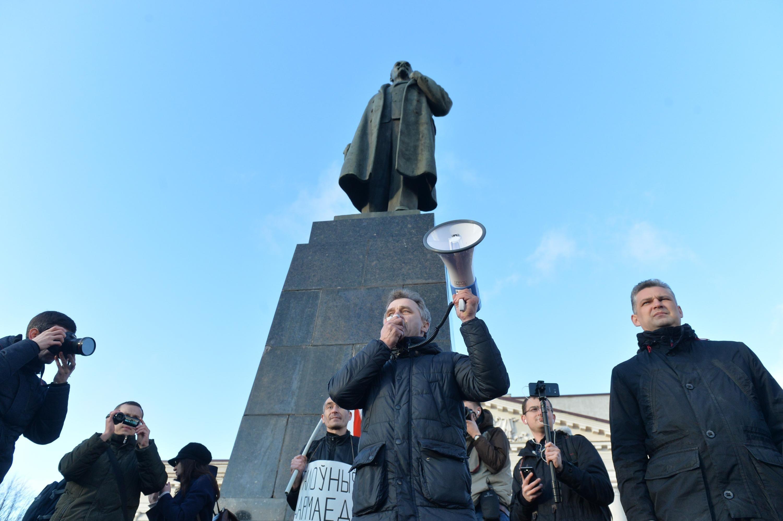 В Беларуссии после Марша нетунеядцев задержали организаторов акции