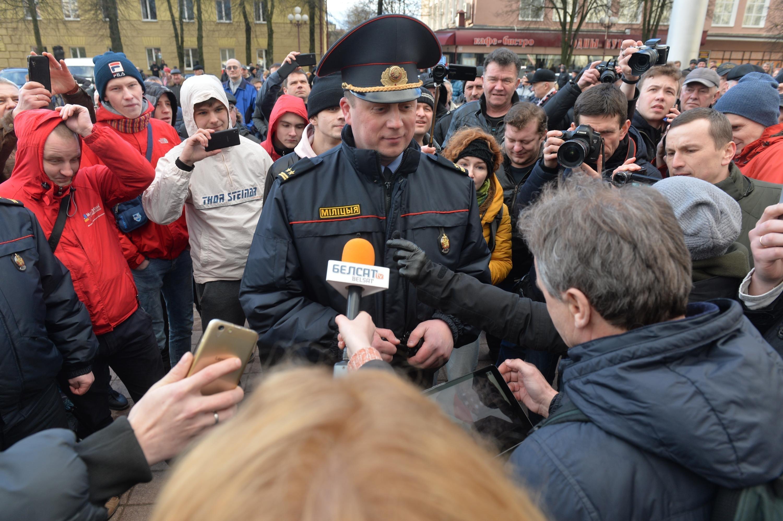 ВБеларуси после «Марша нетунеядцев» задержали лидеров оппозиции