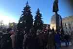 Акция нетунеядцев в Молодечно 10 марта 2017 г.