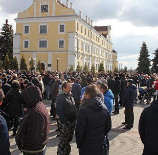 Марш нетунеядцев в Пинске